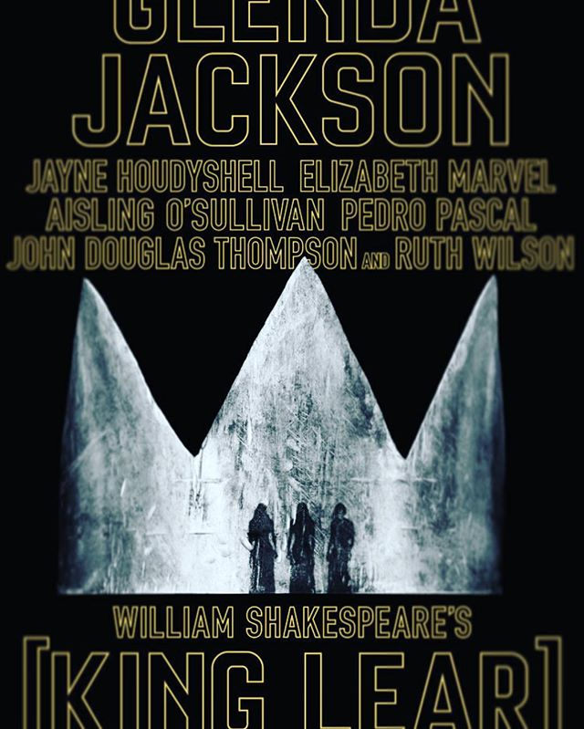 Two hours and ten minutes into the invited dress. Glenda Jackson and Pedro Pascal are fantastic. Feeling of standing up after sitting for two hours and ten minutes is also fantastic. 🎭 🗽 👀 #broadway #kinglearbroadway #corttheatre #shakespeare