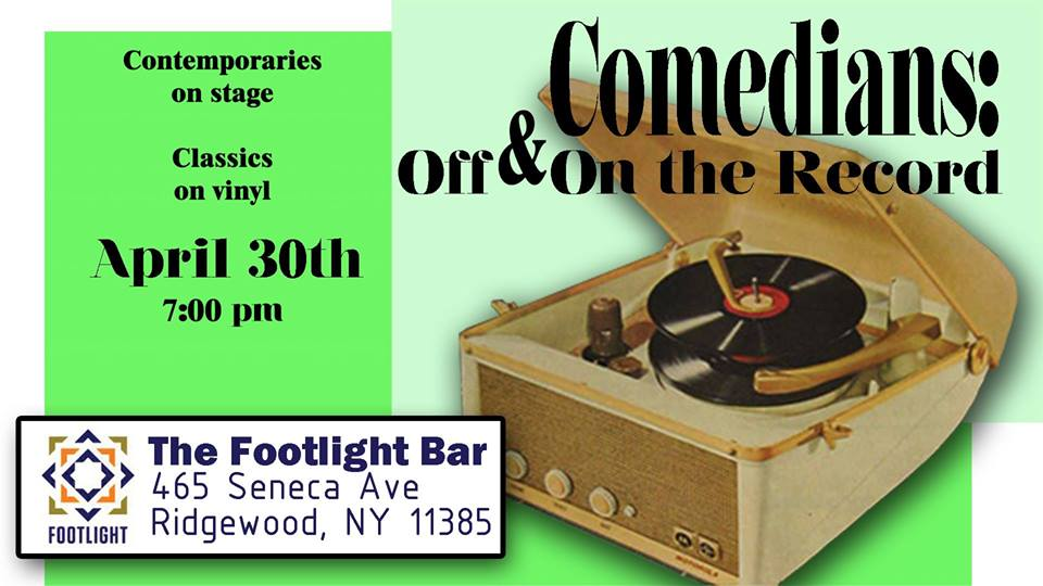 Comedians of today on stage Comedians of yesterday on vinyl We'll meet in the middle...  With  Maddy Smith   Jay Welch   Davine Ker   CW Headley   Hosted by  Mark Miller   Classic Comedy chosen from Bob Newhart Lily Tomlin George Carlin ...others TBD