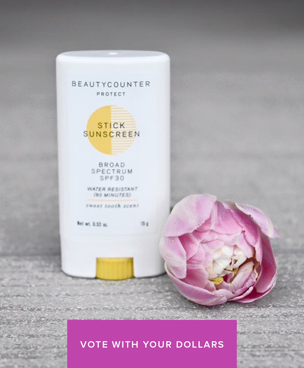 Beautycounter Vote with your Dollars