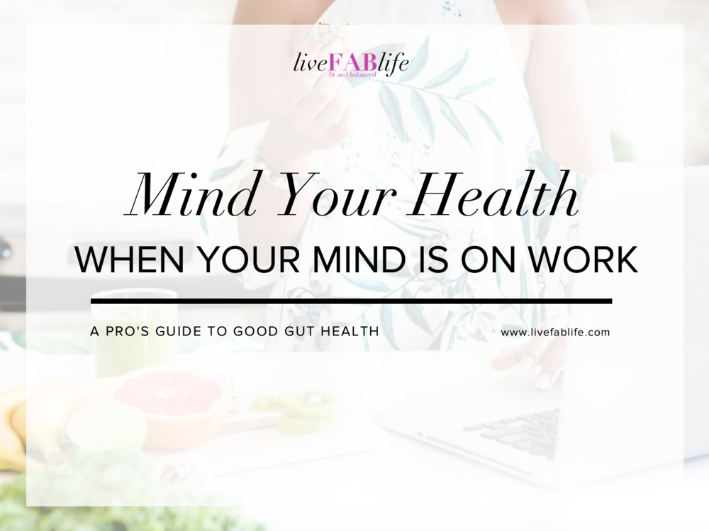 I know you're busy, but if you'renot minding your health, who will? - Learn the six non-negotiable actions you MUST be doing to mind your health.