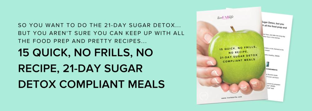 21-Day Sugar Detox Meals