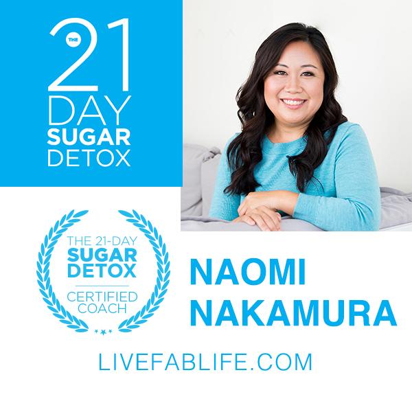 21-Day Sugar Detox with Naomi Nakamura
