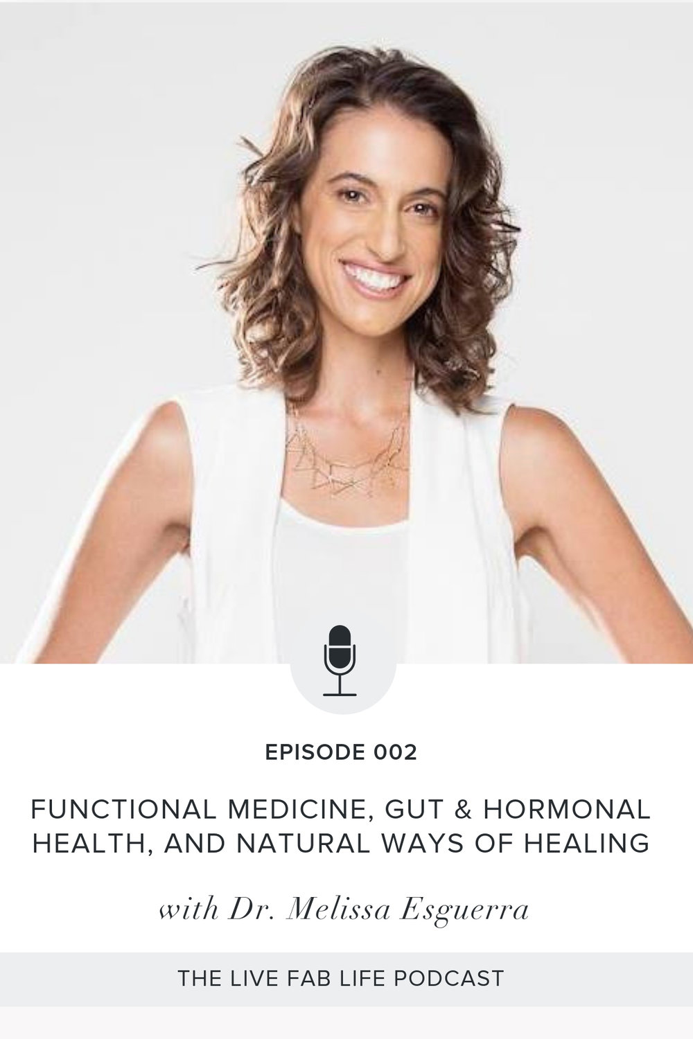 Episode 002: Functional Medicine, Gut & Hormonal Health and Natural Ways of Healing with Dr. Melissa Esguerra