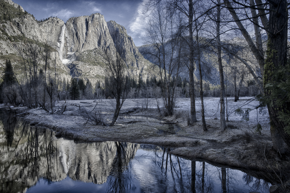 Yosemite Snow Cone and Merced River