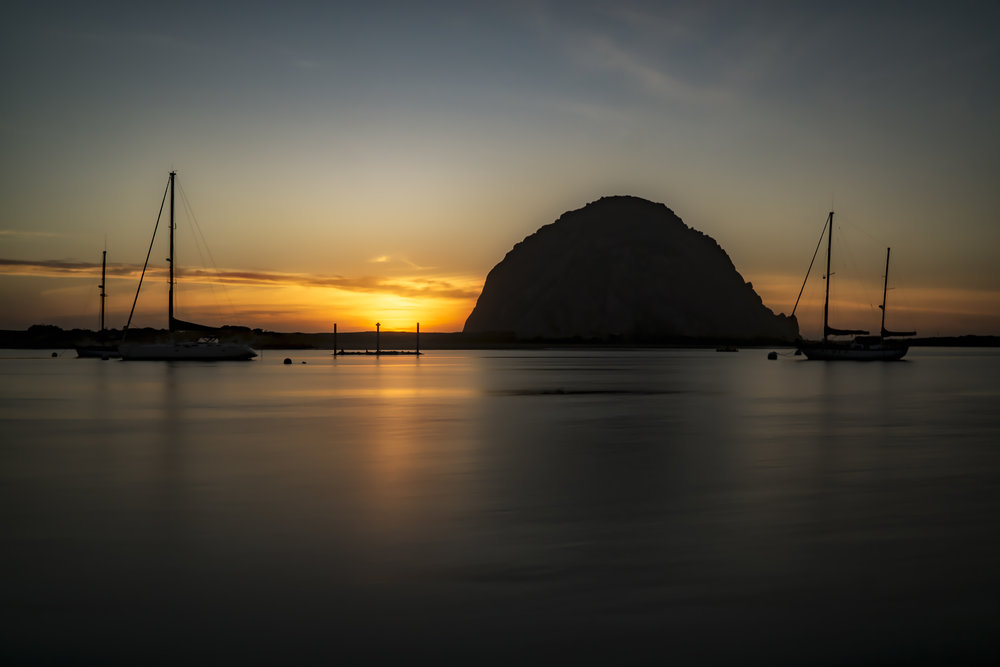 Sunset Morro Bay