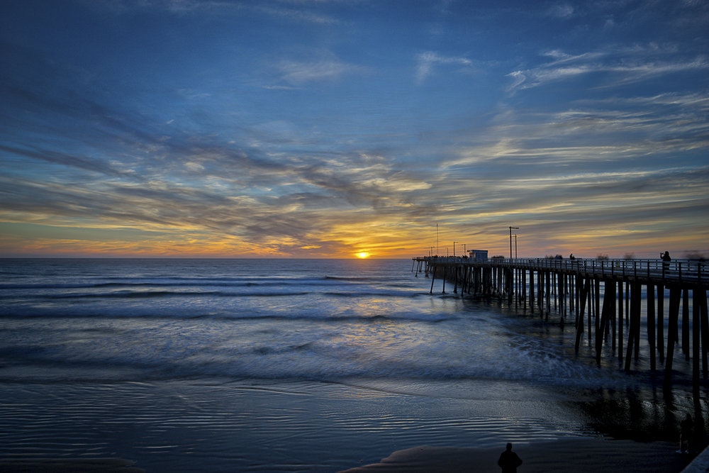 Sunset on Pismo Beach Pier
