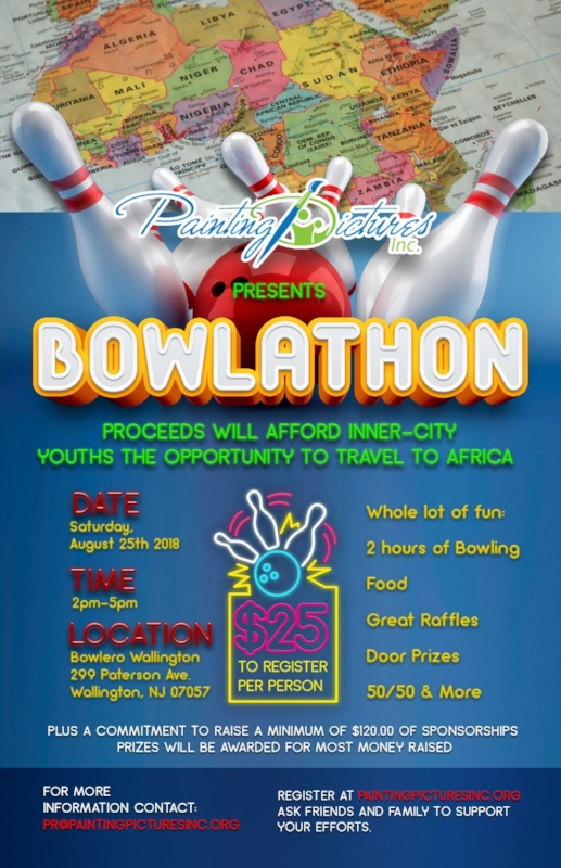 Register for our Bowlathon! - Help raise money to afford inner-city youths the opportunity to travel to Africa!Click Here To Register!Click Here To Download The Pledge Form!