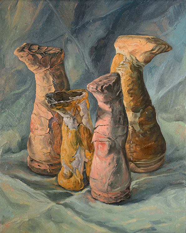 """Immotus"" 2016, oil on canvas, 16"" x 20"""