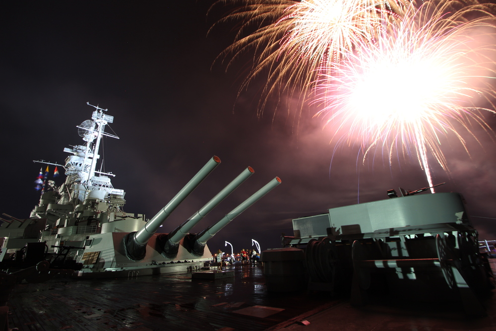 July 4th at the USS ALABAMA