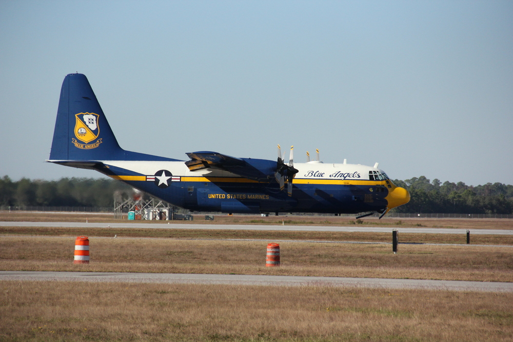 U.S. Navy's Fat Albert (C-130)