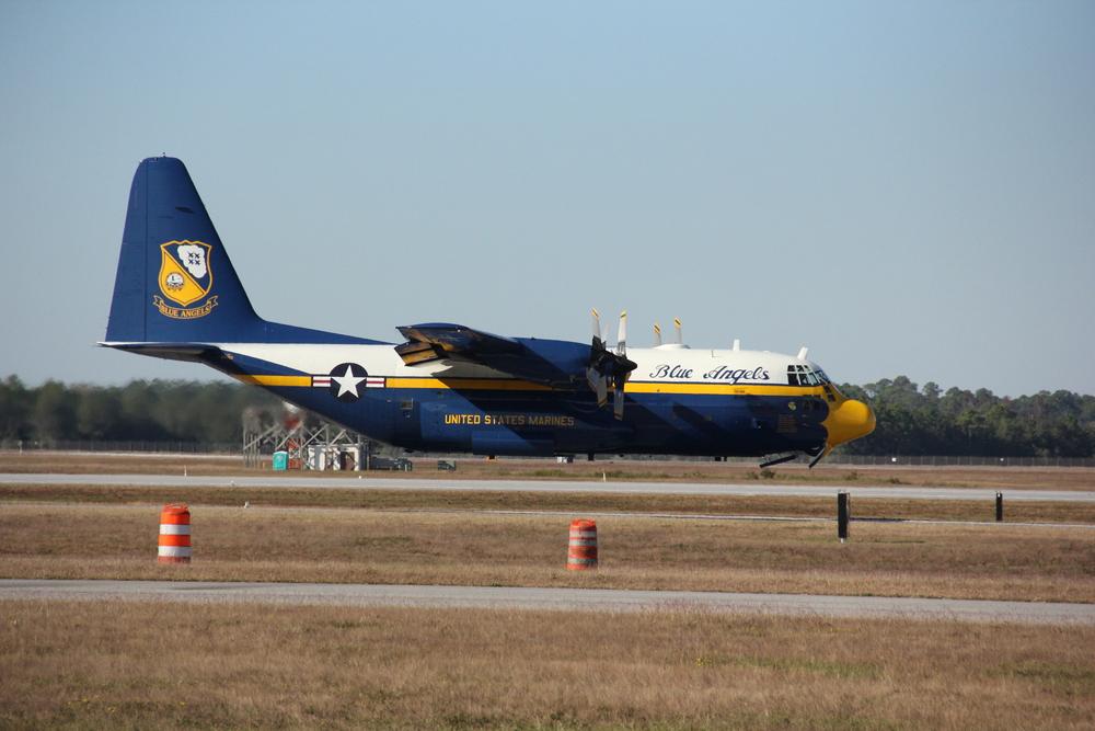 U.S. Navy's Fat Albert (C-130)