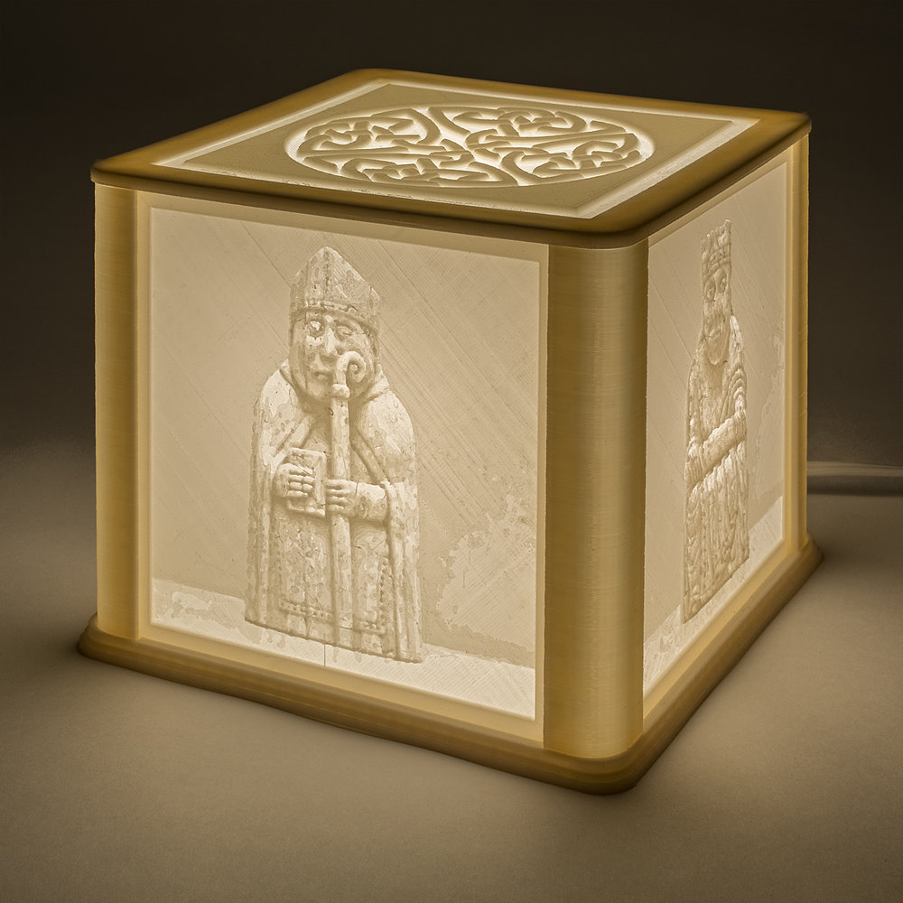 Lewis Chessmen Lamp