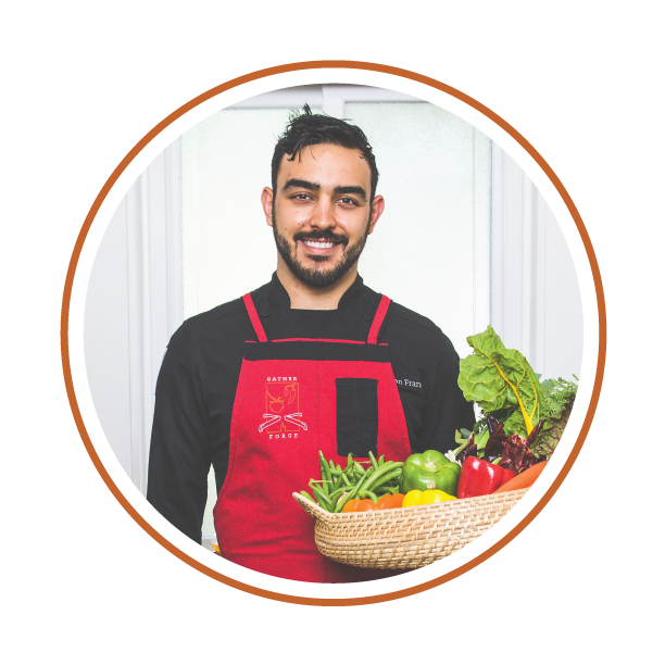 Chef Ryan Francis, owner of Gather & Forge