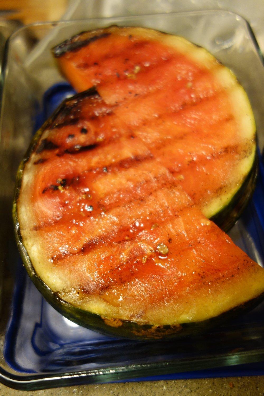 Grilled Watermelon for Dessert