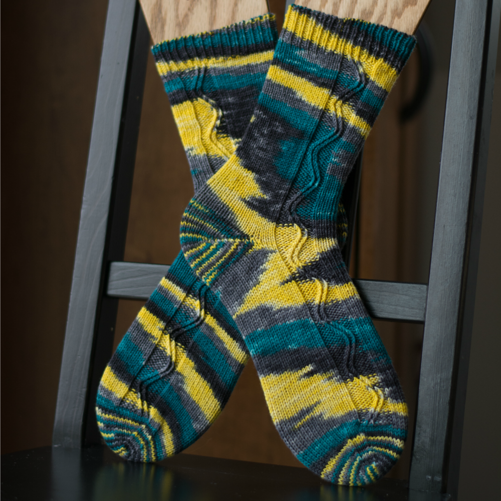 Ultimate ZigZagular Socks by EmilyStraw