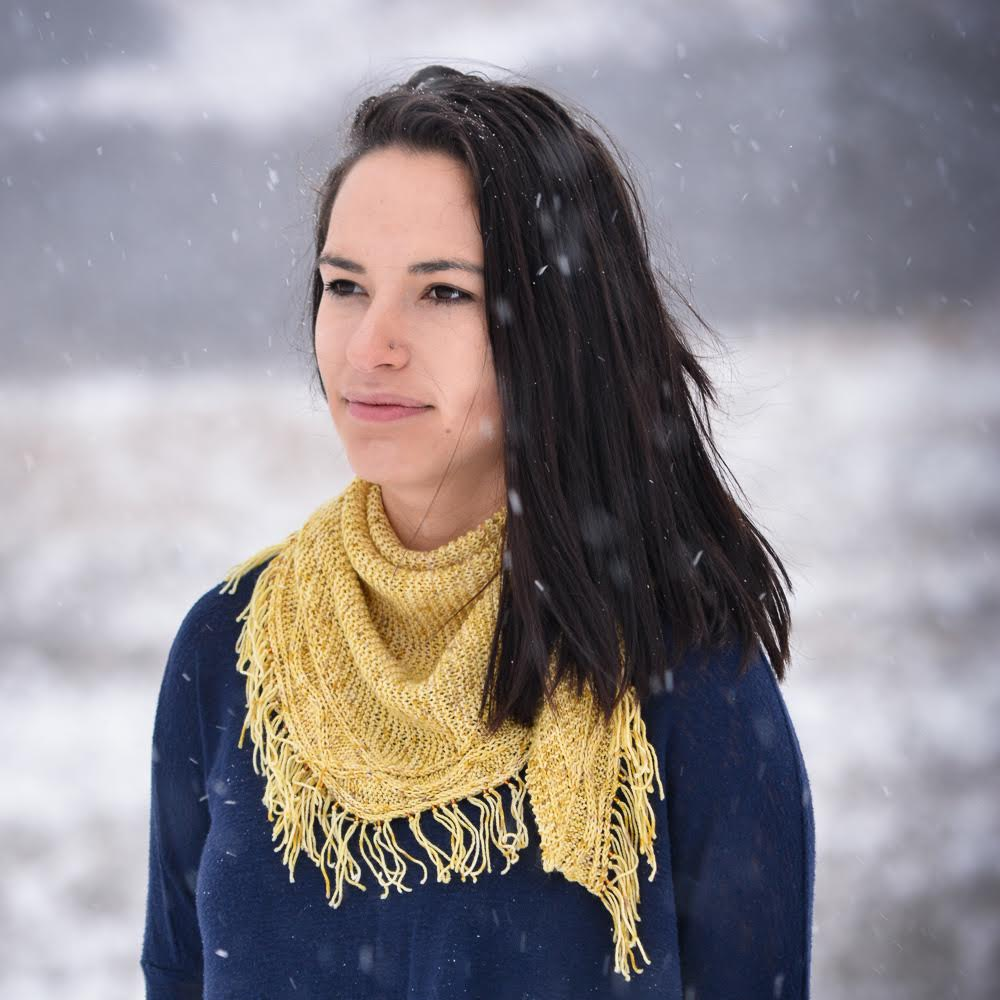 Prairie Hill Shawl by Imagined Landscapes