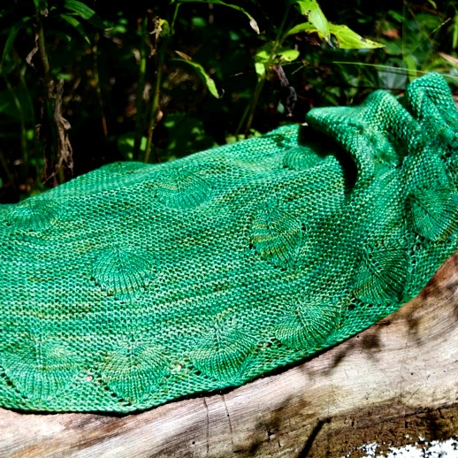 Forest Dreams Shawl by Lucia Pane