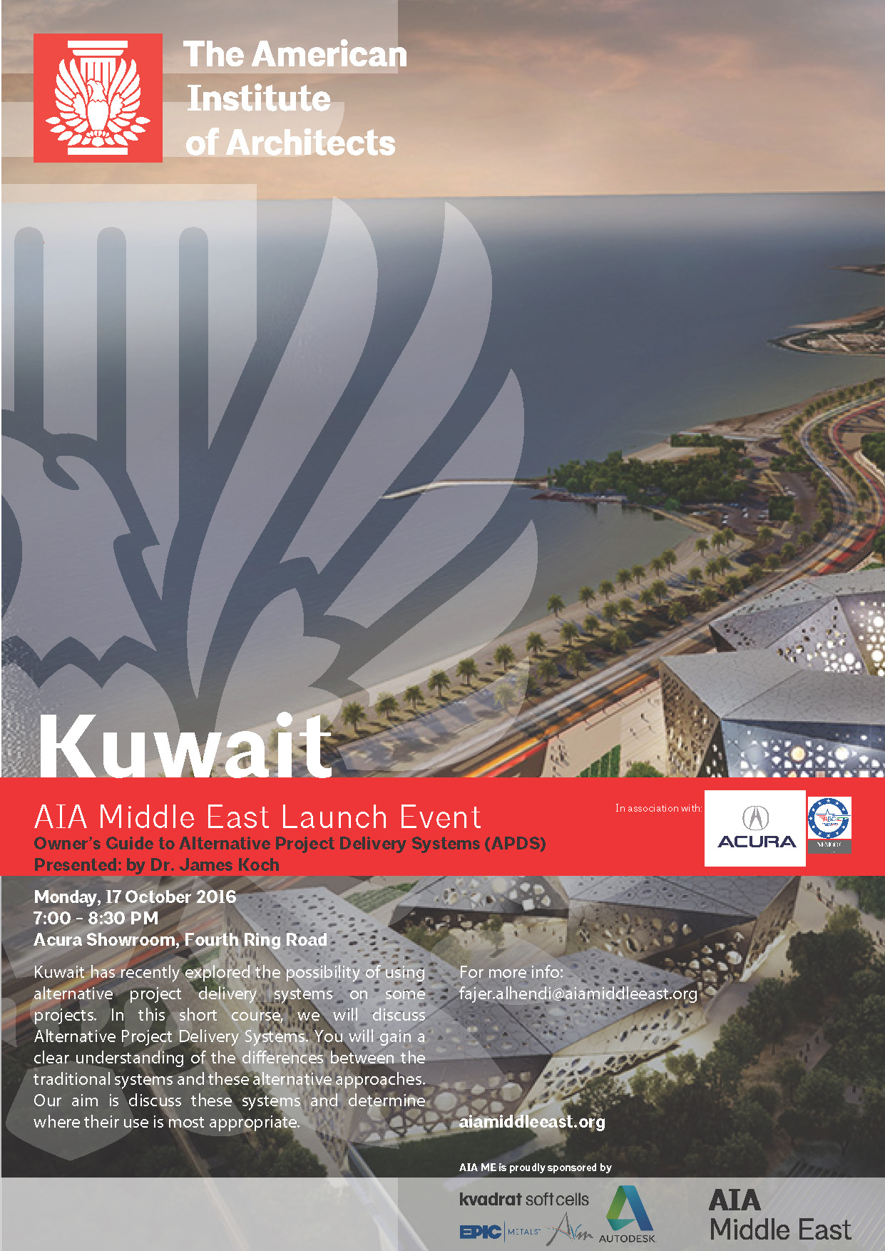 KUWAIT | Alternative Project Delivery Systems (APDS) — AIA Middle East