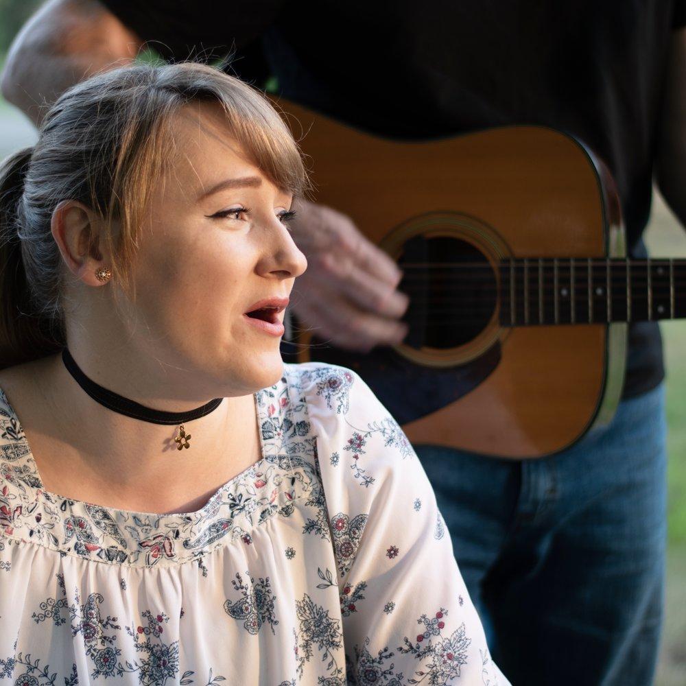 Abbey singing.jpg