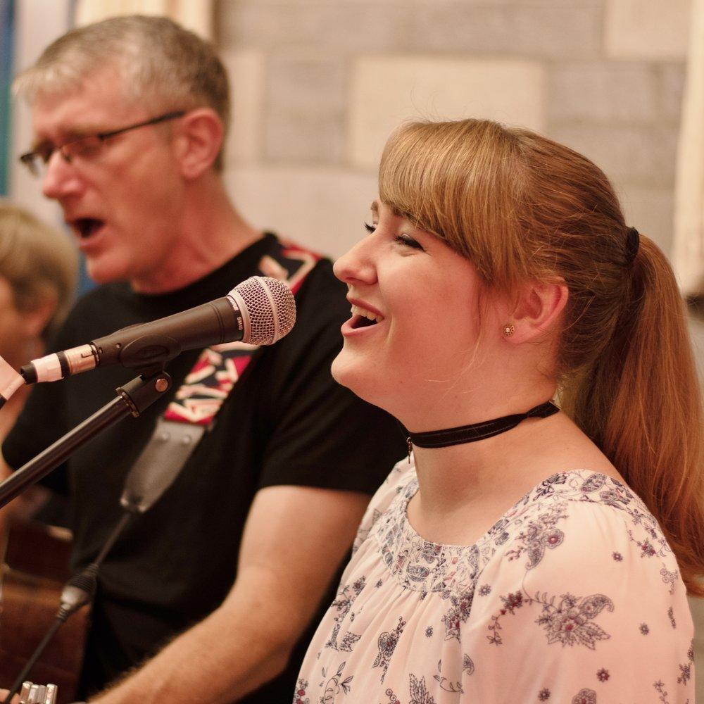 Abbey singing indoor.jpg