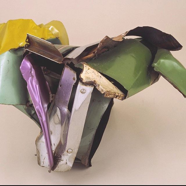 Sculptor John Chamberlain is a constant source of inspiration for us at The House. I don't know about you lot, but every time we set eyes on these beauties, all we see is flowers, flowers & more flowers!! #thehouse #summerseries #backstories #memories #sculpture #flowers #lifecelebration #memorial #thehousefunerals #bespoke #beautifulfuneral #elegantfuneral #timelessfunerals #forgetmenot #goodbye #farewell #love #family #friends