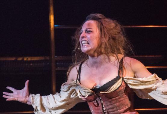Rachel as Aldonza in Man of La Mancha