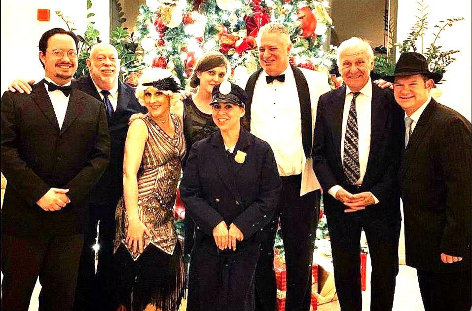 Happy Holidays Party at Shady Canyon in Orange County