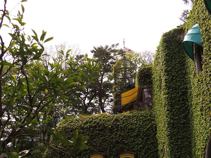MishieWishie at the Ghibli Museum - Terrace Area