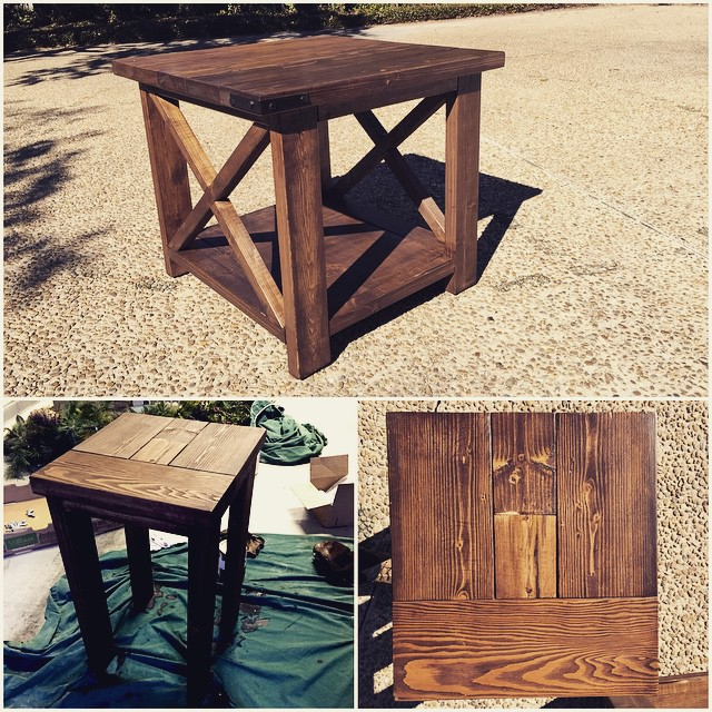 Farmhouse Side Tables