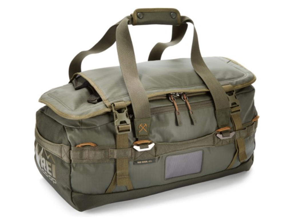 "REI ""Big Haul"" duffel"