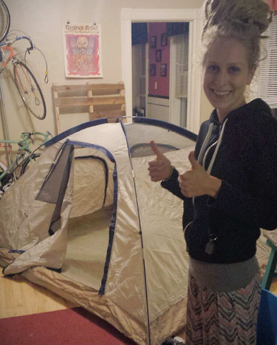 Me and the Tent