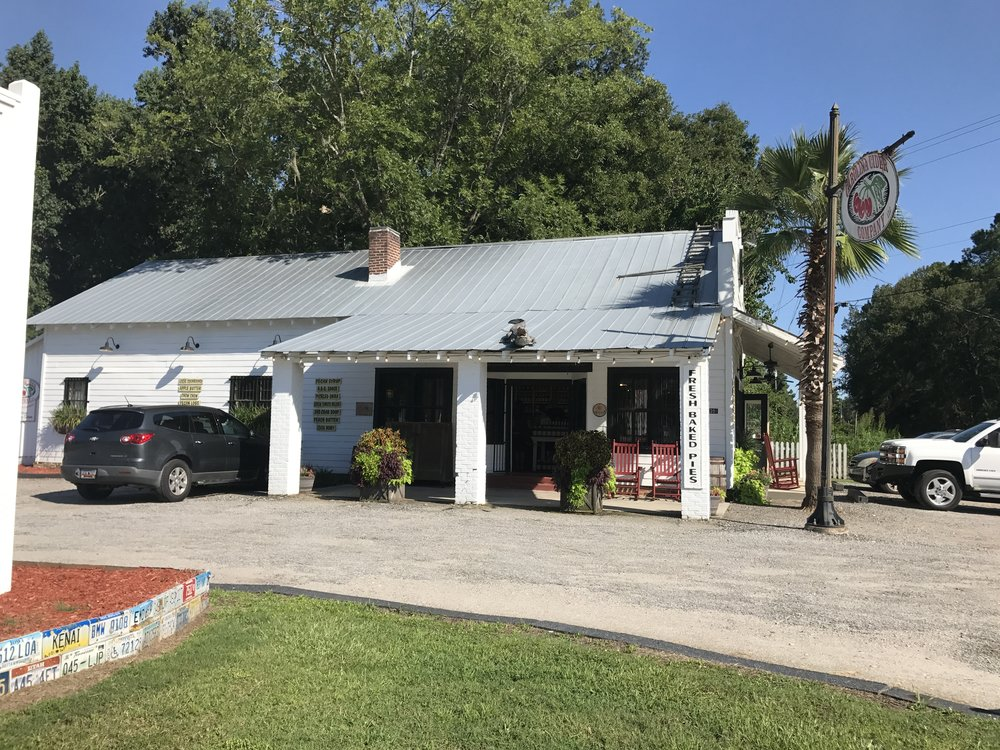 Store Two is located conveniently off of Interstate I-95. You can regularly find vintage sodas, our famous ciders and pies, hot boiled peanuts, and so much more. Outside you can take a picture with our iconic sign or just sit back and relax in a rocking chair.