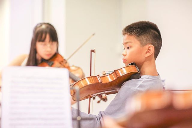 It's concert day! After many rehearsals and hours of practice, we can't wait to watch our students perform tonight at SOTA . . . . . #mozartcomestotosingapore #wolfgangviolin #classicalconcert #violin #talentedkids