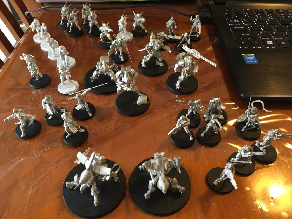 Giles' Yu Jing force for Infinity...