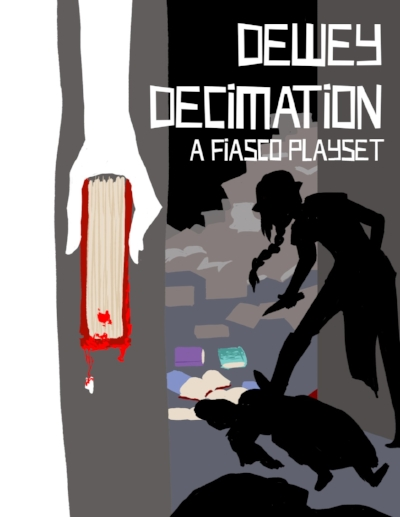 Dewey Decimation - Libraries are weird, and this one is no exception. The staff is quirky, the books are many, and something is always just the slightest bit off. The staff manages to keep the place afloat, but with a ghost roaming the stacks, aliens abducting patrons, and the local PTA's monthly meetings always going awry things can get... messy. But the books are free, right?Get it here.