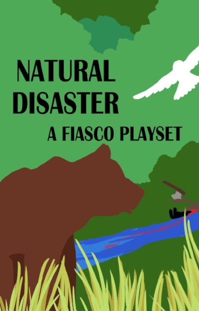 Natural Disaster - When people and nature interact there's a lot that can go wrong: pollution, invasive species, poaching, people littering and vandalizing everything…And that's just the little stuff.Here with greedy business tycoons, insane locals, and corrupt government interests, it's not a question of if something will go wrong but when and how bad. When all these different interests collide there's bound to be conflict, whether it's park rangers chasing down vandals, or protesters trying to keep their favorite nature preserve from being plowed flat by the local tycoon. And all that's not even taking into account the local wolf population.Whether this fiasco is all green, or all on fire, is up to you!Get the Natural Disaster playset.