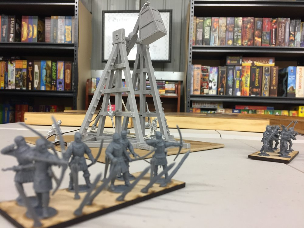 Trebuchet, from Gripping Beast!