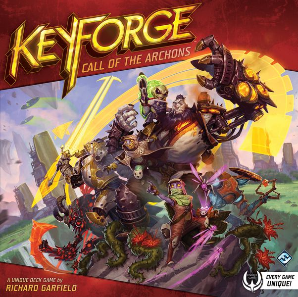 Forge Three Keys to win!