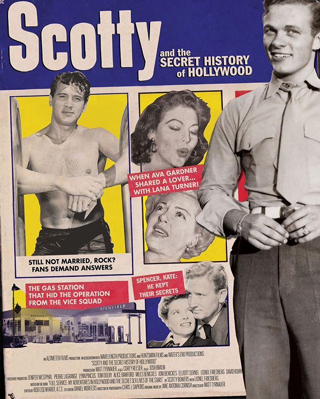 We are incredibly pleased to announce that Scotty and the Secret History of Hollywood has been acquired by Greenwich Entertainment and is coming to theaters April 2018. For more information, see link in bio. #scottybowers #scottyandthesecrethistoryofhollywood #fullservice #documentary #greenwichentertainment