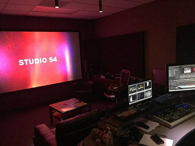 Putting the final touches on #studio54doc for Sundance 2018 with our friends at @thegarrisonfinish