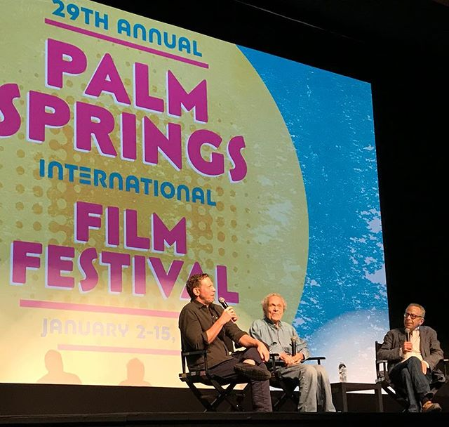 Hello, Palm Springs Film Festival! #scottyandthesecrethistoryofhollywood #scottybowers