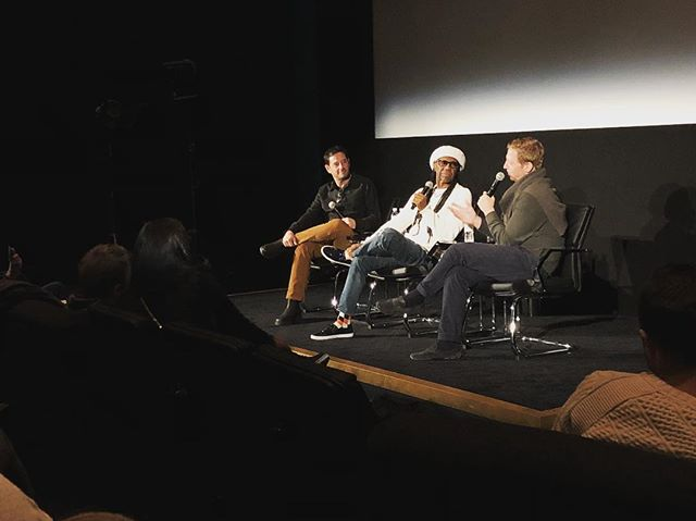 @nilerodgers and @tyrnauer chatting before our #sundance2018 #studio54 premiere tomorrow!