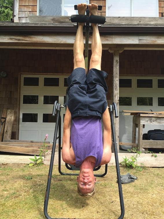upside down Markus Pukonen