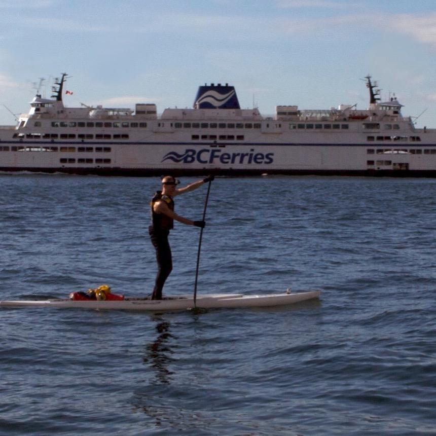 Markus Pukonen SUPS Georgia Strait.