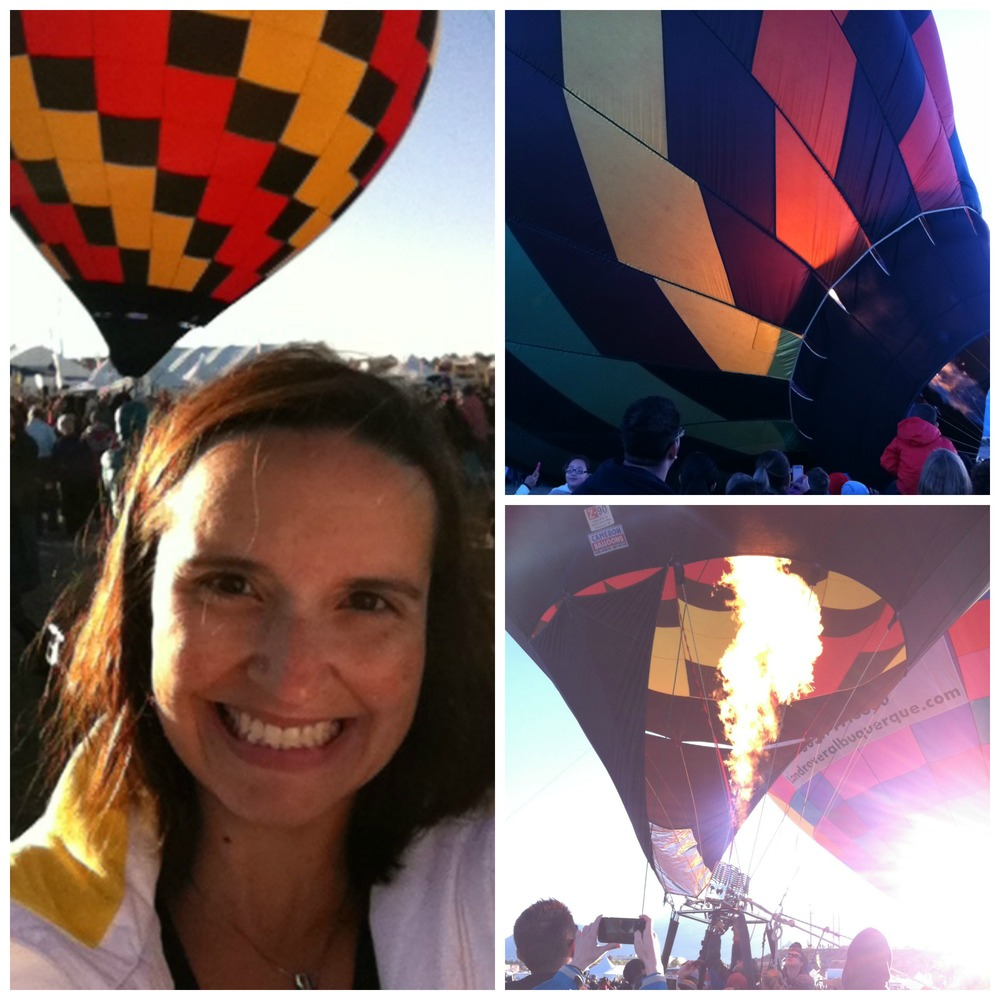Hot Air Balloons Collage