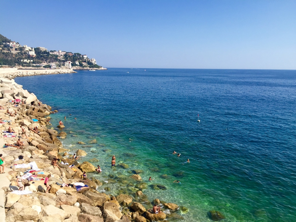 Gorgeous water in Nice, France