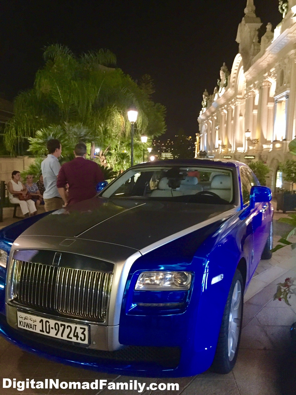 Monaco is filled with luxury cars... but no Uber!