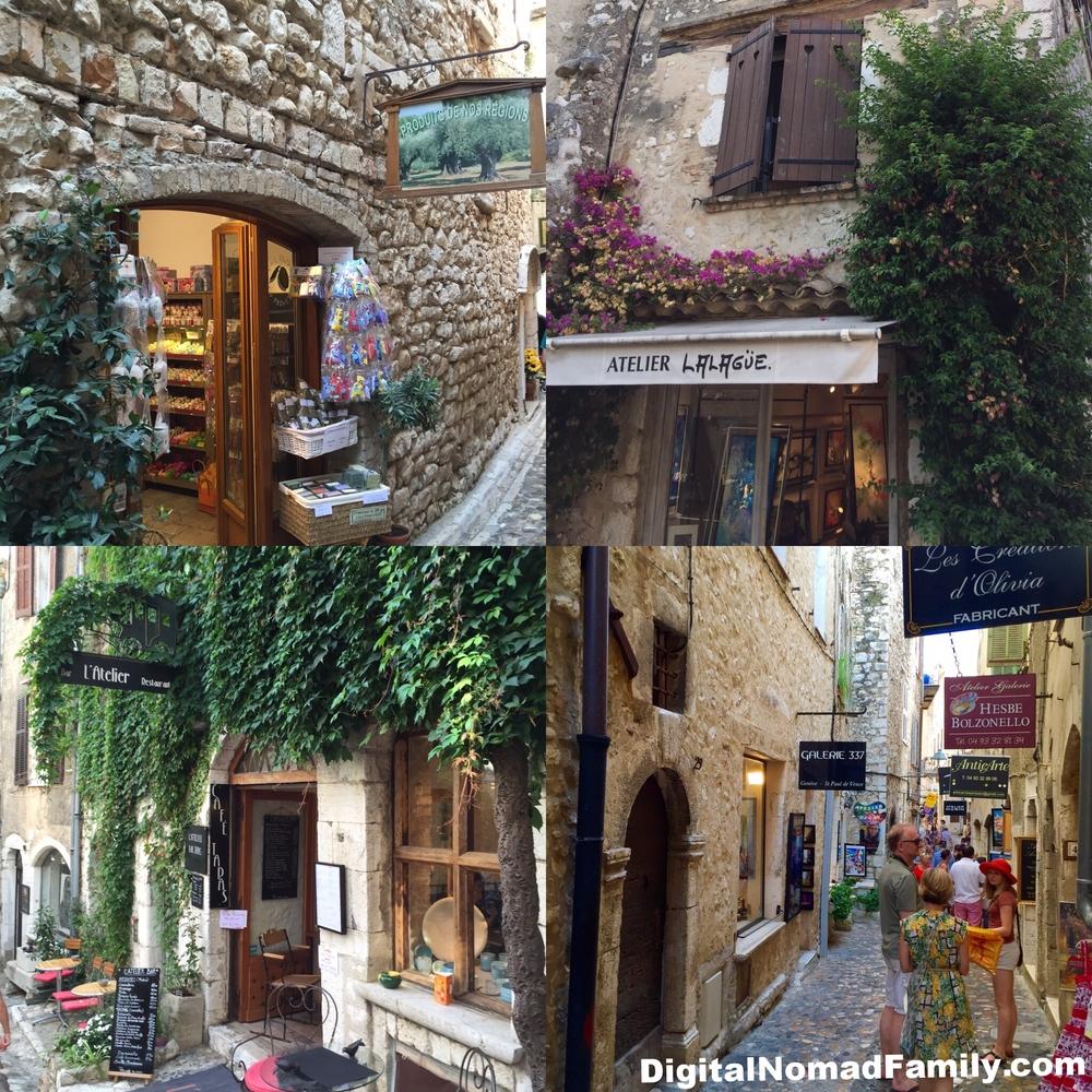 St. Paul-de-Vence's picturesque shops