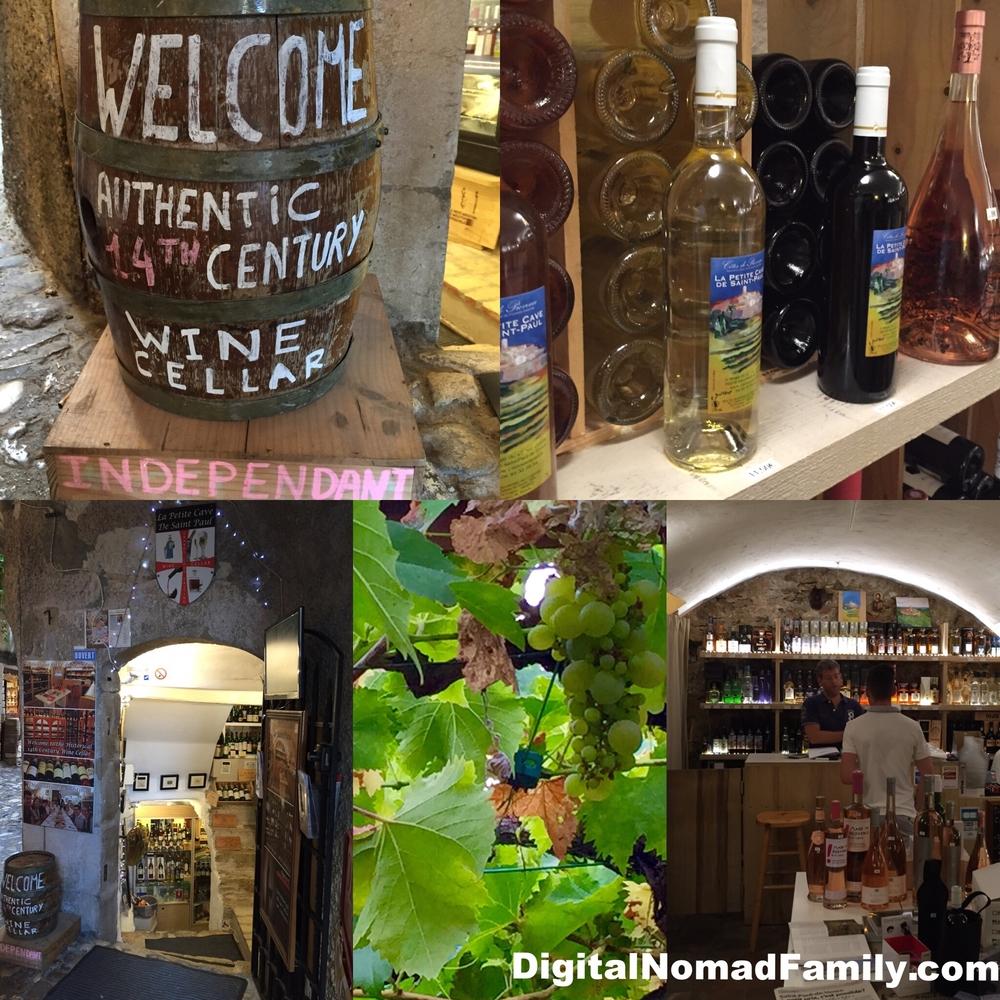 St. Paul-de-Vence's local winery