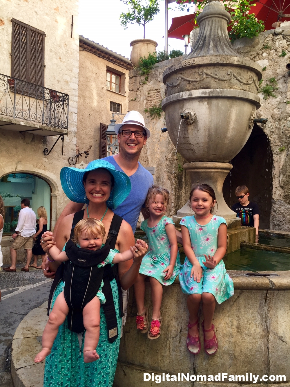 Our family had a delightful day in St. Paul-de-Vence!